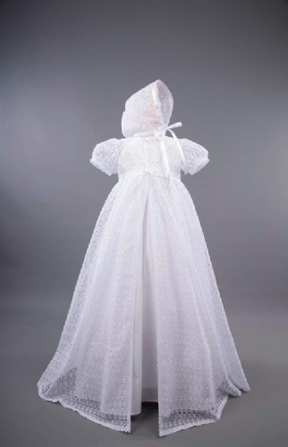 Lena Christening Gown, Jacket and Bonnet